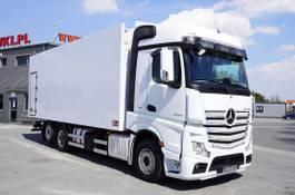 koelwagen vrachtwagen Mercedes-Benz Actros 2545 , E6 , 6X2 , 18 EPAL , heigh 2,6m , side door , reta 2017
