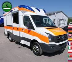ambulance bedrijfswagen Volkswagen Crafter 10.2021 50 2.0 BITDI L2 BMT KRANKENWAGEN KLIMA E 2015