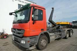 containersysteem vrachtwagen Mercedes-Benz Actros 2641 6x4 Abrollkipper Meiller 2008