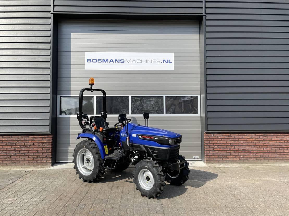 standaard tractor landbouw Diversen Farmtrac FT26 4WD 24.5 PK minitractor NIEUW 3 jaar garantie 2021