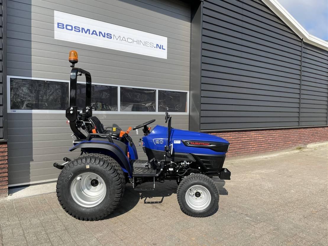 standaard tractor landbouw Diversen Farmtrac FT20 4WD 18.5 PK minitractor NIEUW op gazonbanden 2021