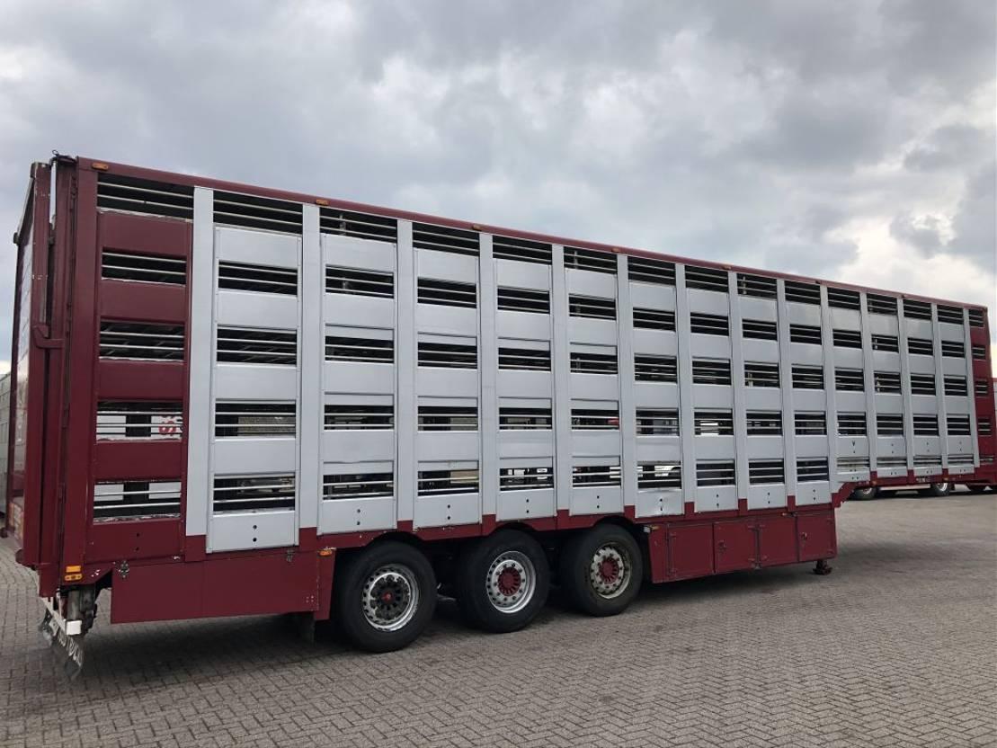 vee oplegger Diversen Montull 5 stock Type 2 livestock vee trailor 2008