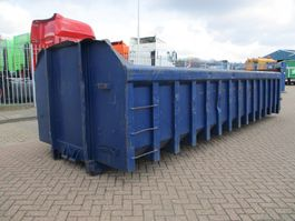 puin container KTK KTK  ZAND-PUIN-GROND CONTAINER VOOR KABEL OF KETTINGSYSTEEM