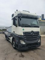 containersysteem vrachtwagen Mercedes-Benz Actros 2545 HIAB Abroller Bigspace E6 Intarder 2014