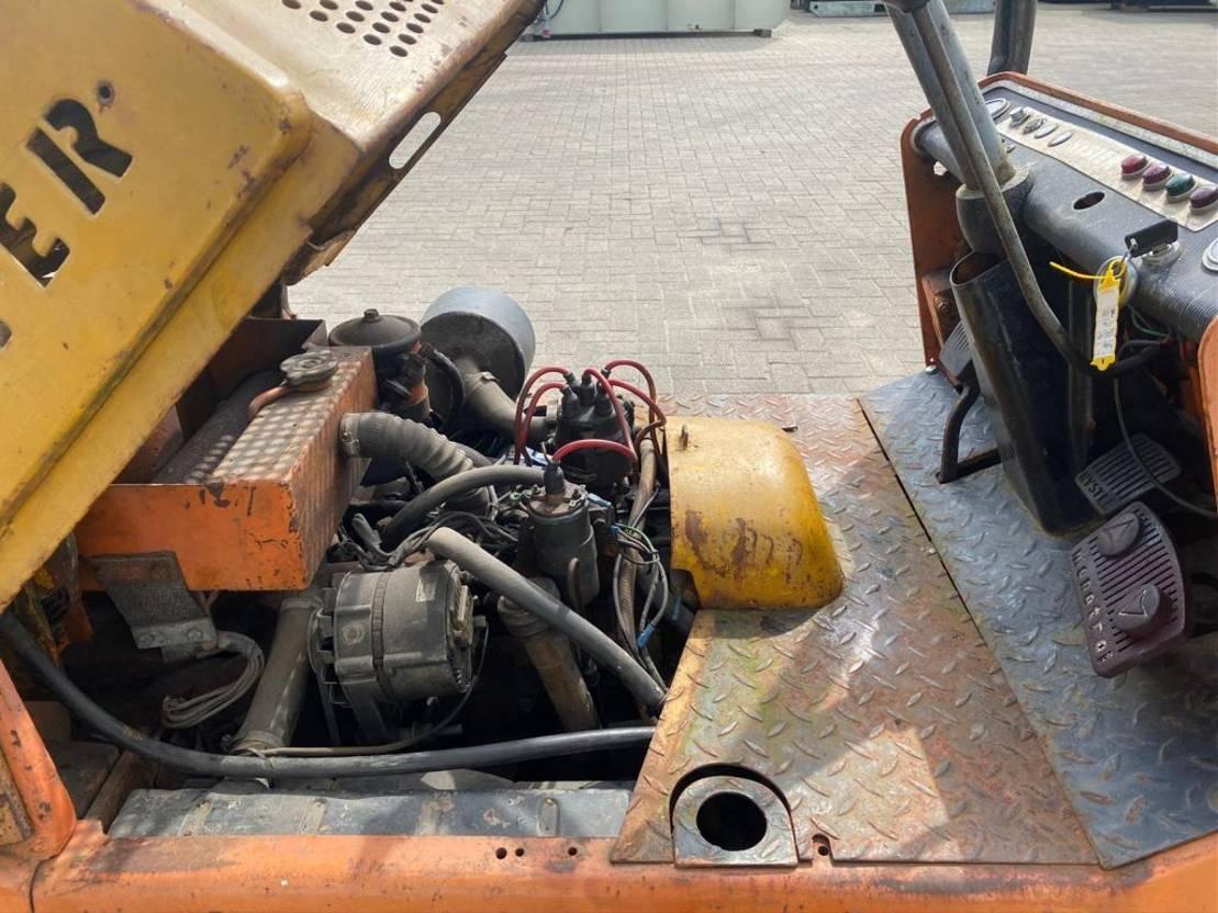 vorkheftruck Hyster 1.5 ton lpg heftruck