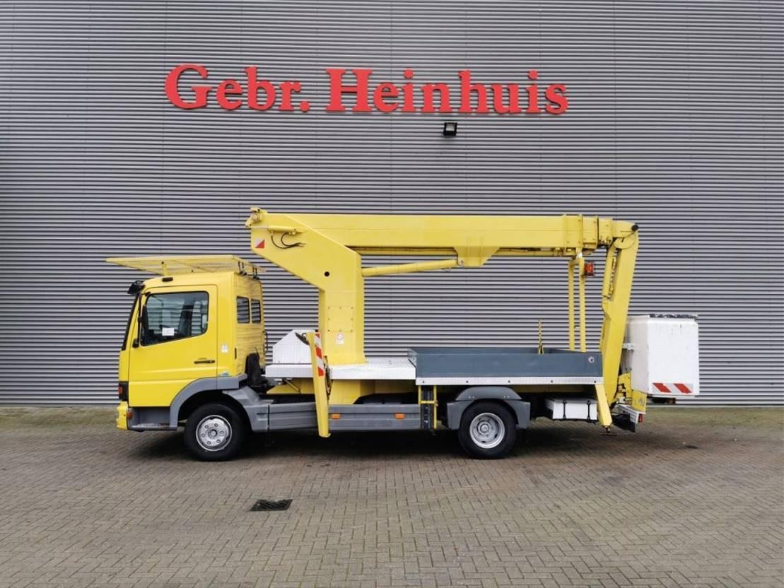 autohoogwerker vrachtwagen Mercedes-Benz Atego 815 4x2 Ruthmann TK 250 25 Meter! 1999