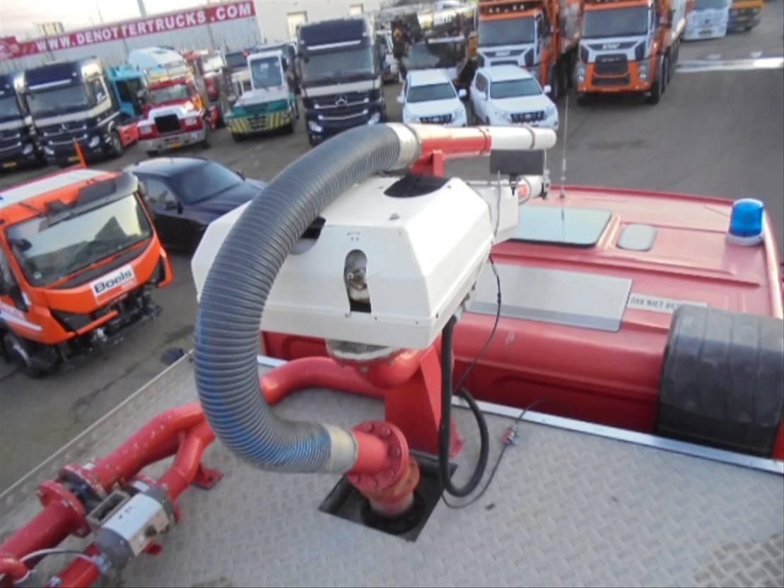 brandweerwagen vrachtwagen Renault R380.26 6x4 1992