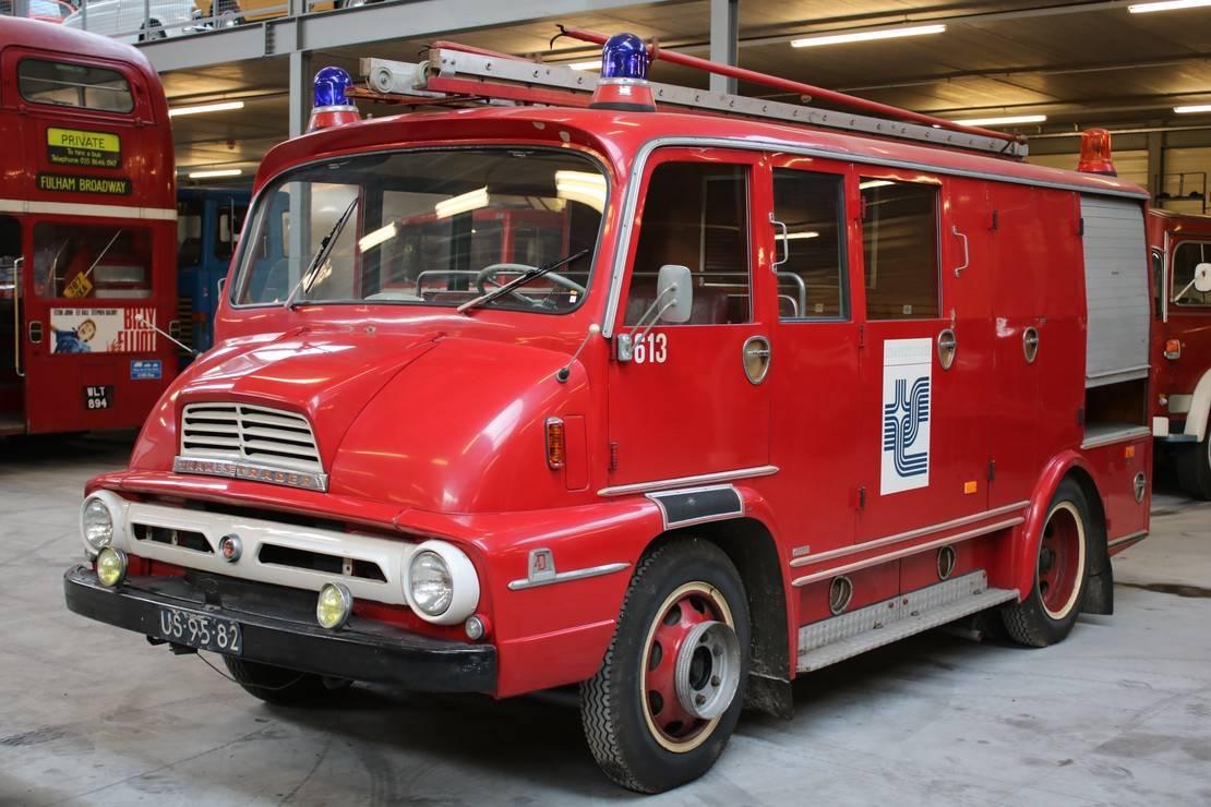 brandweerwagen vrachtwagen Diversen Thames Trader T55 1964
