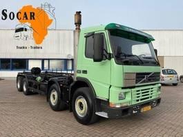 chassis cabine vrachtwagen Volvo FM 12 8X4 FULL STEEL. MANUAL-GEAR (EURO2) 2000