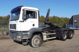 containersysteem vrachtwagen MAN TGA 33.350 - 6x4 - 278.318 Km - KORTE WIELBAISIS - CONTAINERHAAK