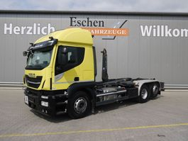 containersysteem vrachtwagen Iveco Stralis 420 6x2 Abrollkipper 2017