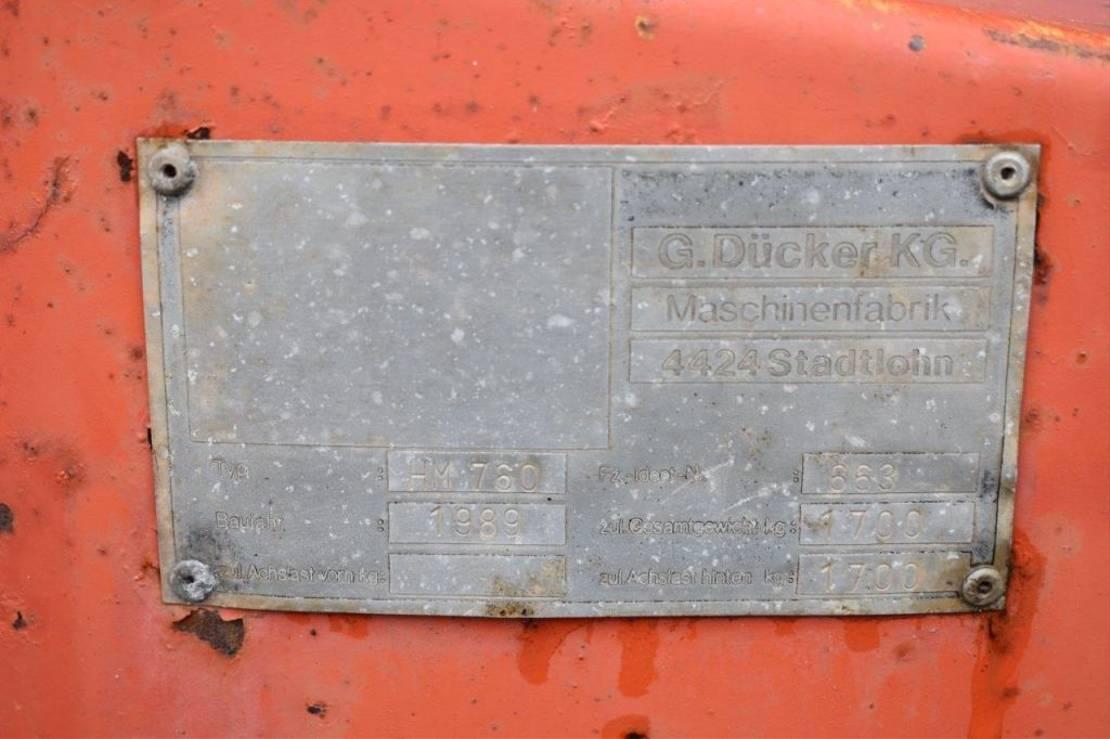 hakselaar Dücker HM760 1989