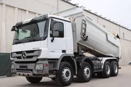 kipper vrachtwagen > 7.5 t Mercedes-Benz Actros 4141 MP3 8x4 E5 Meiller Kipper 2011