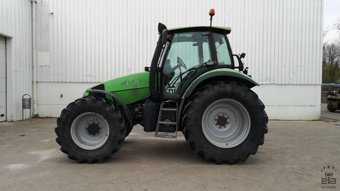 standaard tractor landbouw Deutz Agrotron 150 mk3 2004
