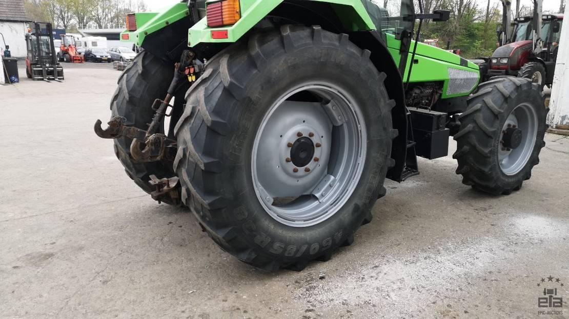 standaard tractor landbouw Deutz Agrostar