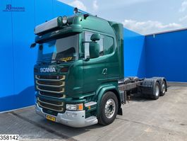 chassis cabine vrachtwagen Scania R490 6x2, EURO 6, Retarder, PTO, Standairco 2014