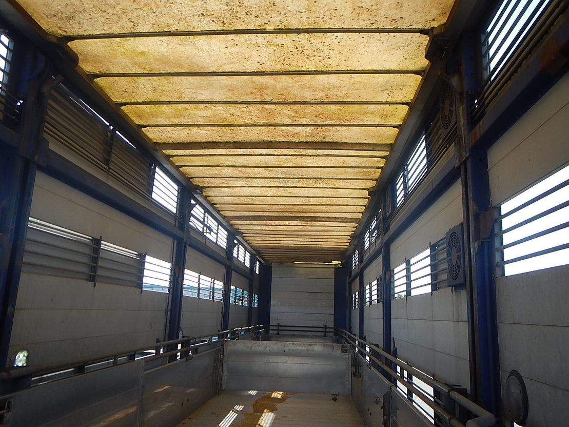 vee oplegger Fliegl Fliegl/Vandborg 3-stock 2008