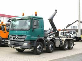 containersysteem vrachtwagen Mercedes-Benz Actros 3241 K 8x4 Abrollkipper Meiller 30to 2009