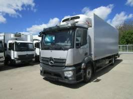 koelwagen vrachtwagen Mercedes-Benz 1832 L Kühlkoffer 7 m LBW 2 T*TK T-1200 2015