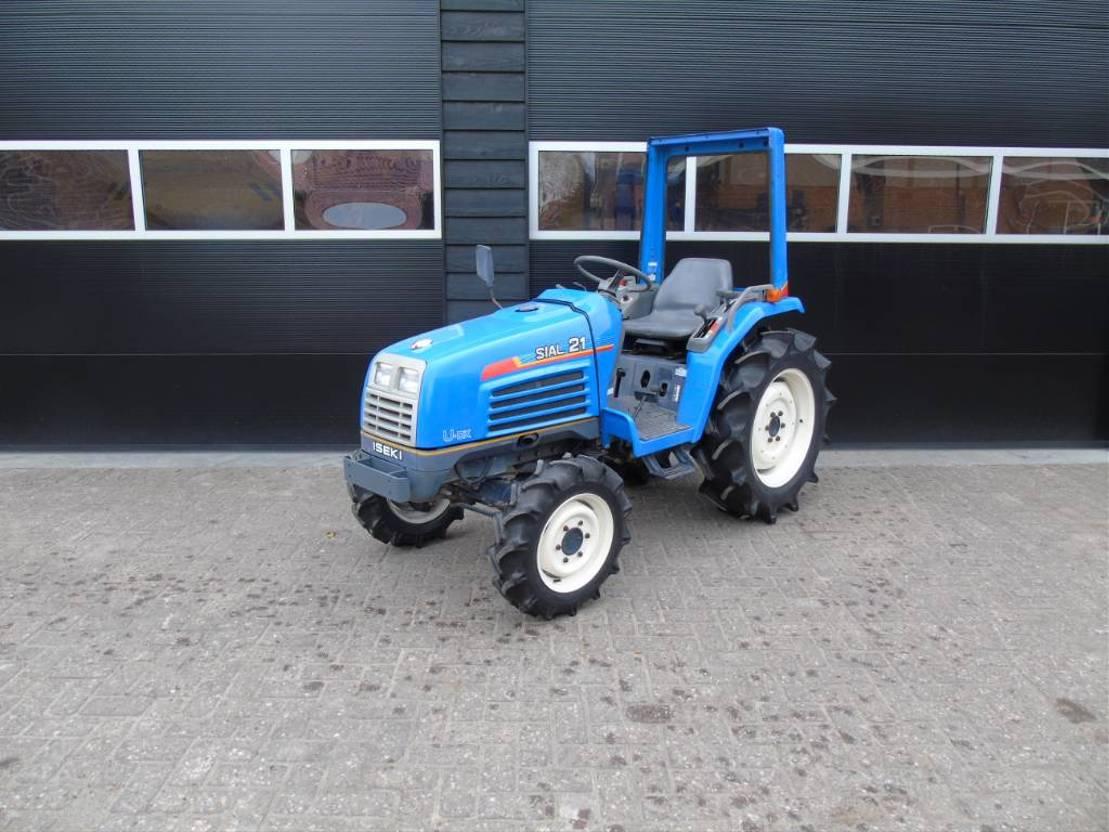 standaard tractor landbouw Iseki Sial 21 stuurbekrachtiging 25 PK