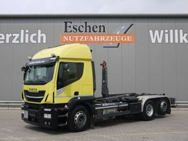 containersysteem vrachtwagen Iveco Stralis 420 AT 260 SY/PS 2017