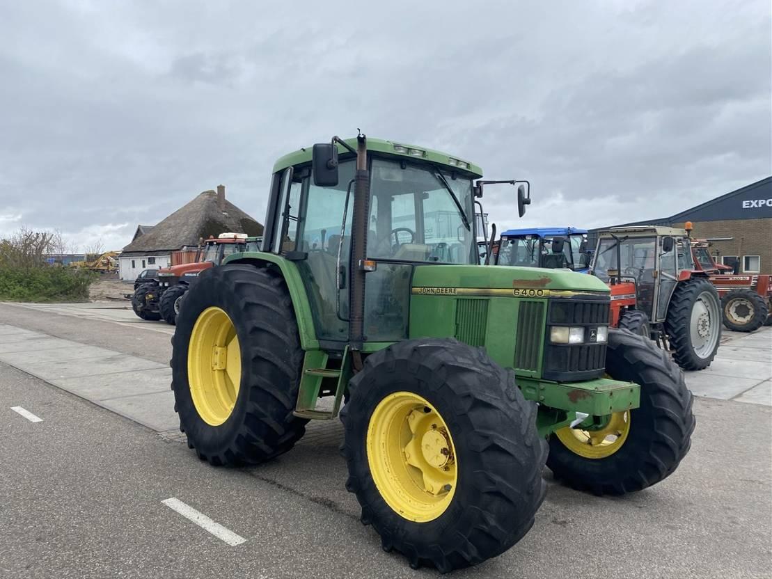 standaard tractor landbouw John Deere 6400 1994