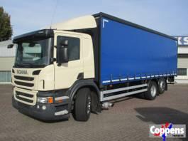schuifzeil vrachtwagen Scania P280 6X2 Euro 5 2013