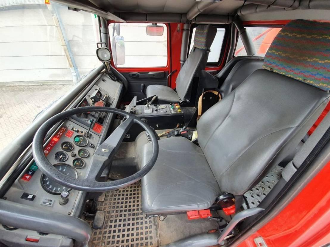 brandweerwagen vrachtwagen Renault M210 3000 Liter 1998