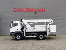 autohoogwerker vrachtwagen MAN TGM 13.250 4x4 Ruthmann T180S 1000 Volt 3 Seats Euro 5! 2012