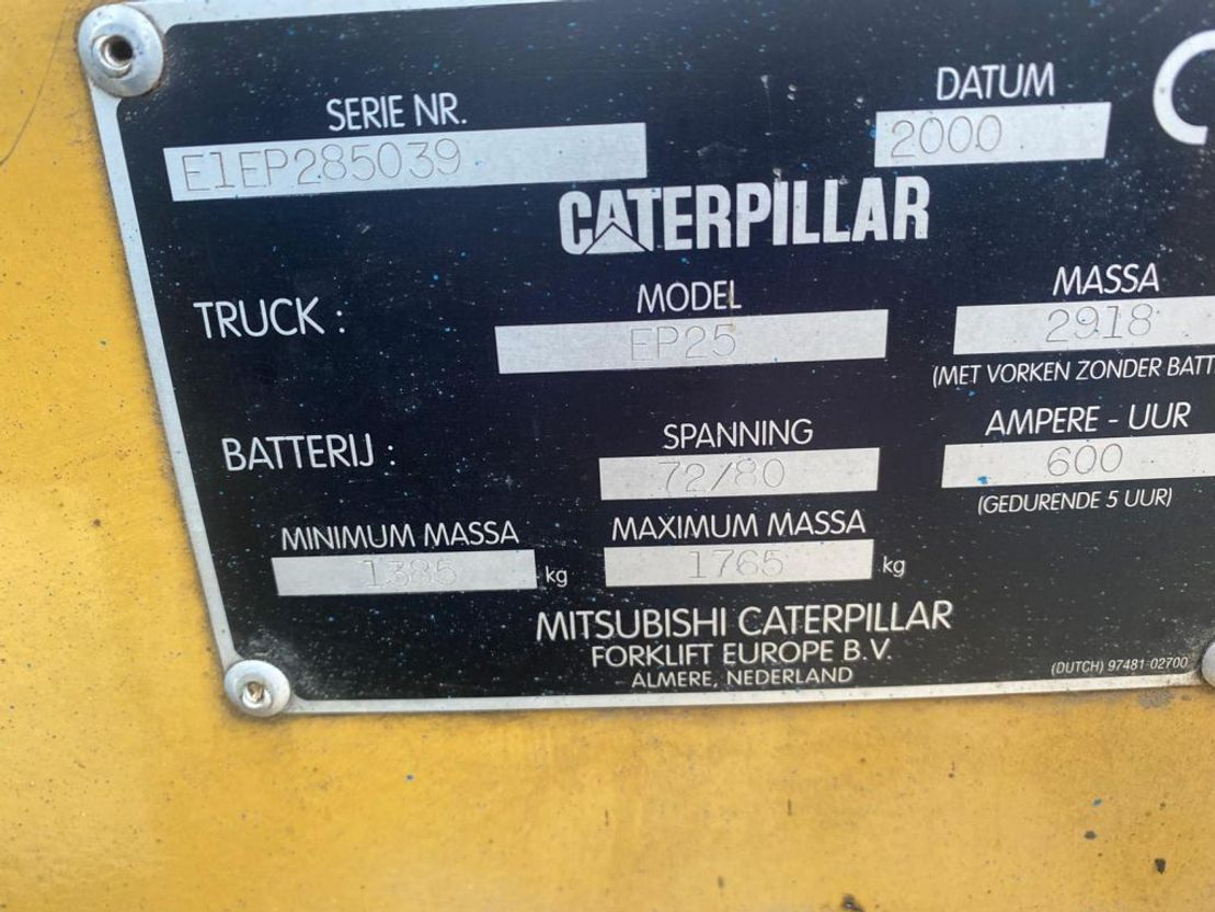 vorkheftruck Caterpillar EP25 2000