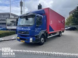 bakwagen vrachtwagen Volvo FL240 4x2 Rigid Closed Box Euro 5 2013