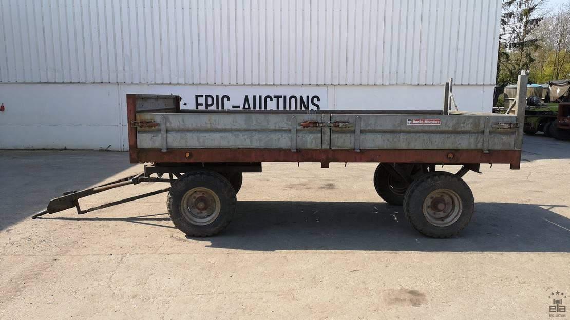 platte aanhanger vrachtwagen Diversen GWL GSK50 1993