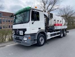 kolkenzuiger vrachtwagen Mercedes-Benz Actros 2541 6X2 Lenk + Liftachse /ADR !!!/14000 Liter 2007