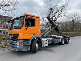 containersysteem vrachtwagen Mercedes-Benz Actros 2541 L 6x2 Abrollkipper/Meiller 20.67/ D-Fzg. 2008