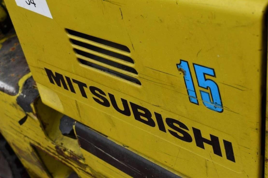vorkheftruck Mitsubishi FG15 2000