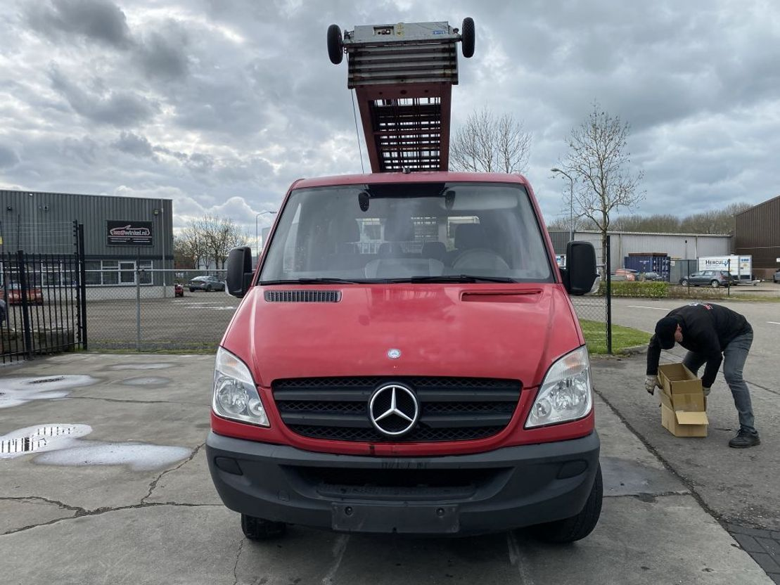 autohoogwerker bedrijfswagen Mercedes-Benz SPRINTER 906 315 CDI + PAUS 25 METER LIFT 2007