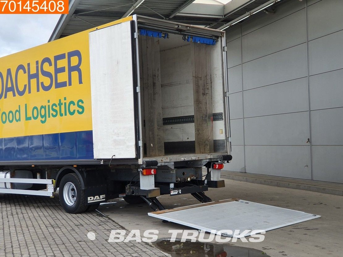 koelwagen vrachtwagen DAF LF 280 4X2 16 Tons Manual Euro 6 2014