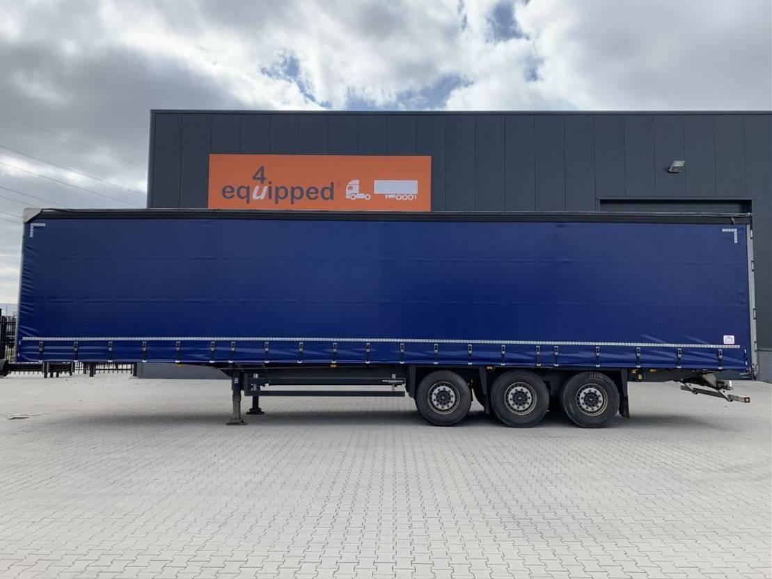 schuifzeil oplegger Schmitz Cargobull nieuw Code-XL zeil, schijfremmen gegalvanisieerd, multilock, NL-trailer, APK: 04/2022 2016