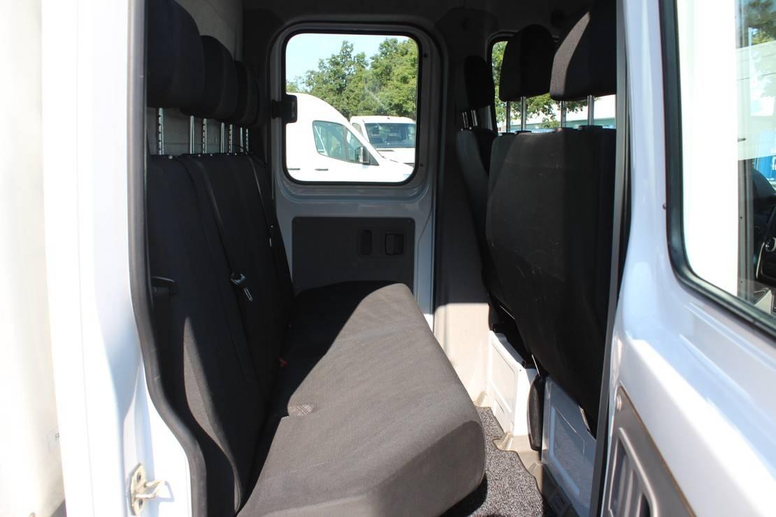chassis cabine bedrijfswagen Mercedes-Benz Sprinter 313 CDI L2 366 DC Huifzeil, Airco, 7-Zits 2015