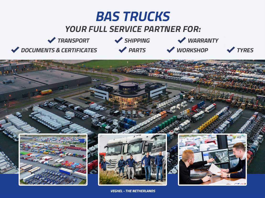 platform vrachtwagen Iveco Stralis 500 6X2 Manual Intarder Liftachse Euro 5 2009