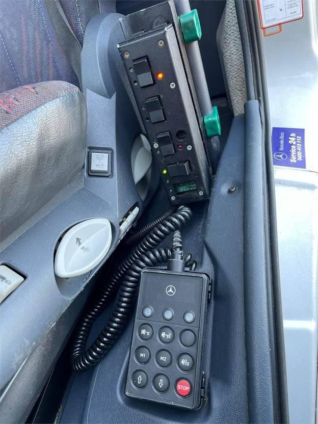 containersysteem vrachtwagen Mercedes-Benz Atego 1218 1218L 4X2 2003