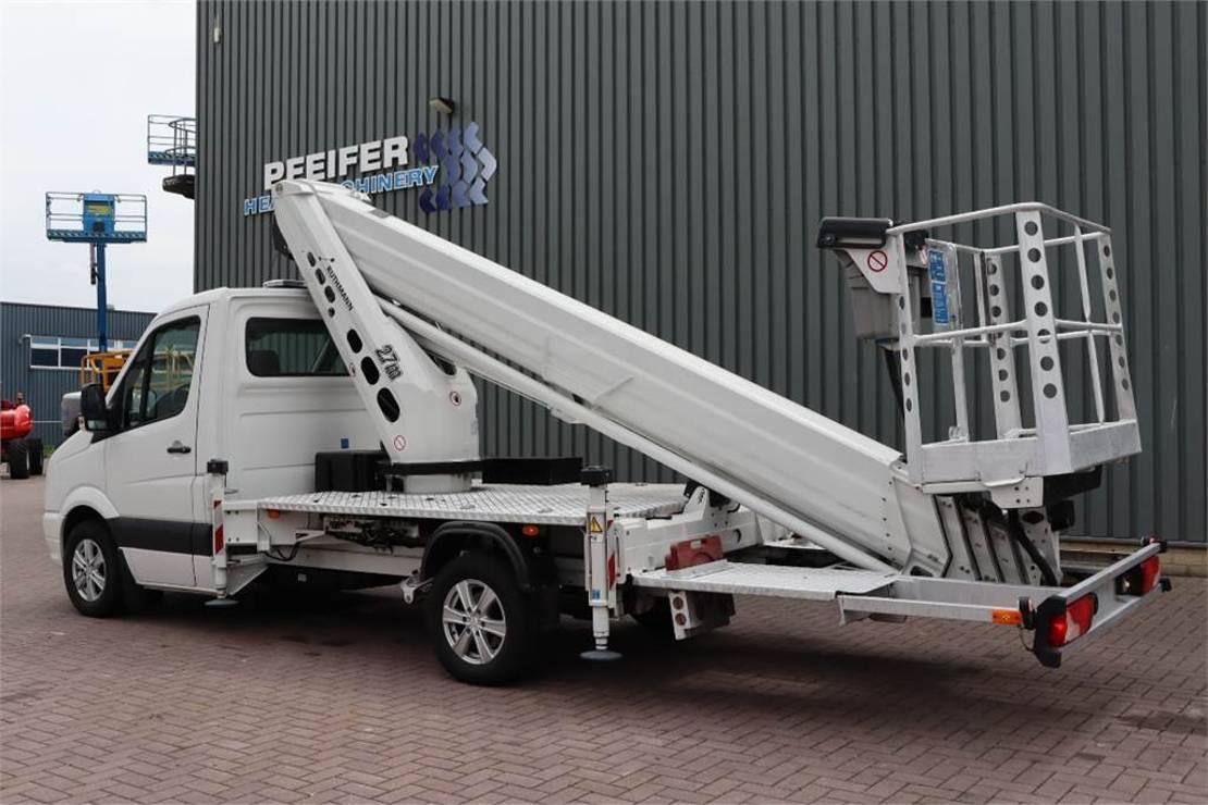 autohoogwerker vrachtwagen Ruthmann TB270.3 Driving Licence B/3. Volkswagen Crafter TD 2016