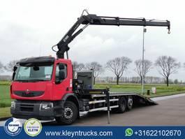 platform vrachtwagen Renault Premium 380 hiab 166e-2duo,hydr 2013
