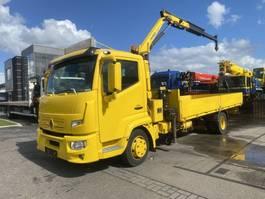 open laadbak vrachtwagen Renault D180 4X2 EURO 6 + PALFINGER PK4200 2015