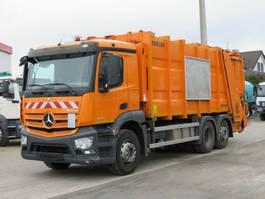 vuilniswagen vrachtwagen Mercedes-Benz 2536 L 6x2 Müllwagen Zoeller + Schüttung 2014