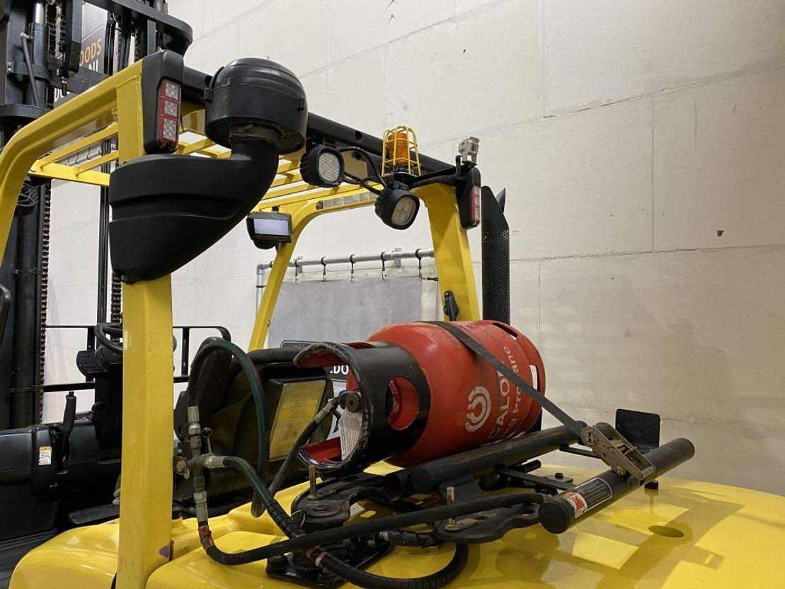 vorkheftruck Hyster 5.5FT LPG dubbellucht 5500kg camera extra hydrauliek 2013