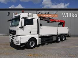 open laadbak vrachtwagen MAN TGX 26 BL, 6x4, EEV, Fassi F 185 Kran, Obj.-Nr.: 0209/21 2013