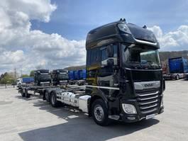 platform vrachtwagen DAF XF 530 Komplettzug  FAR BDF SSC,ACC,PCC,NAVI,TOP 2018