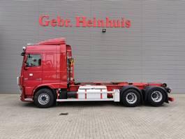 containersysteem vrachtwagen DAF XF 510 6x2 Euro 6 Hiab 20 Tons Hooklift Retarder Radio Remote! 2015