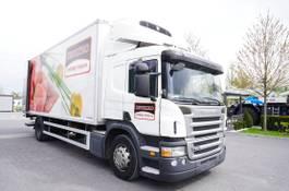 koelwagen vrachtwagen Scania P280 , E5 , 18 EPAL , Meat HOOKS , tail lift , retarder , sleep 2012
